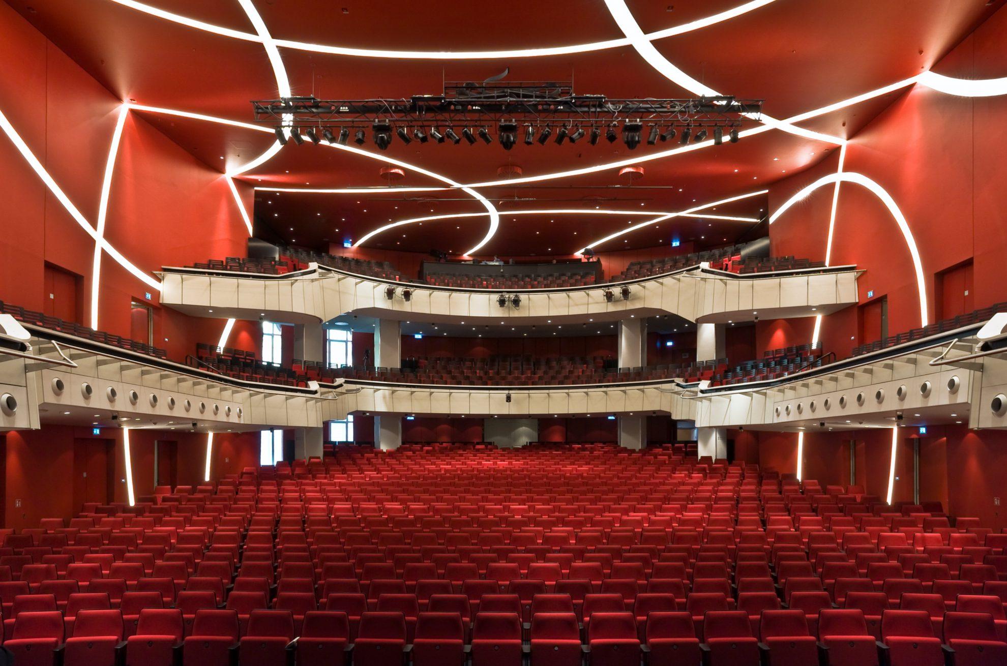 Deutsches Theater M 252 Nchen Doranth Post Architekten